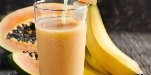 smoothies-papaya-banana-smoothie